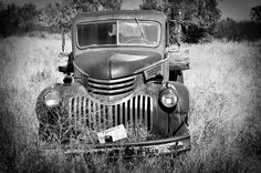 Old Chevy - photographed by Jayna Rice