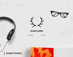 """Check out new work on my @Behance portfolio: """"huntlers   identity""""…"""