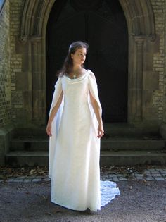 """Arwen's """"bridge scene"""" dress from Lord of the Rings  (this is a replica)"""