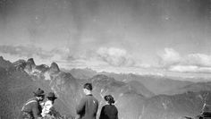 """North from Western Lion"". Photo taken circa 1920 by Franklin Walter Hewton, courtesy the Vancouver Archives."