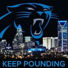 Keep Pounding Carolina PanthersPanthers