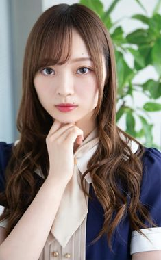 Ulzzang Fashion, Cute Asian Girls, Kpop Girls, Asian Beauty, Japanese, Actresses, Long Hair Styles, Lady, Model