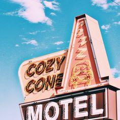 COZY CONE MOTEL. Photography by Whitney Micaela VSCO GRID #whitneymicaelaphoto