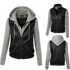 10 Jacket Cuero Leather Chaquetas Imágenes De Mejores CTRwCxqFf