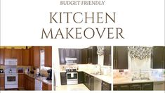 KITCHEN MAKEOVER ON A BUDGET|GLAMSOCKETS - YouTube My kitchen has needed updating for a long time, I finally completed all of my DIY projects. Check out this video showing the kitchenette reveal.