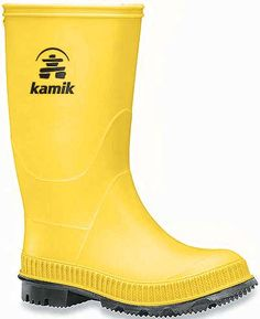 Kamik Kid's 9.25 Inch Spritz Collection Stomp Boot Style: EK4149