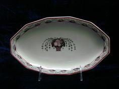Sold - vendu - Keramis - Ebay - ancien ravier Art déco 1925 porcelaine de Limoges PL Eugène Alluaud http://www.ebay.fr/usr/keramis