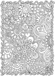 Welcome to Dover Publications: Creative Haven Dream Doodles: A Coloring Book with a Hidden Picture Twist