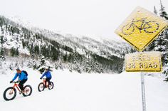 """Change up your winter workout routine by """"fat biking"""" Washington's Methow Valley. [photo courtesy of the Methow Valley Sport Trails Association] Electric Bike Kits, Winter Cycling, Fat Bike, Fun Events, Winter Fun, Cool Bikes, Outdoor Activities, Mountain Biking, Touring"""