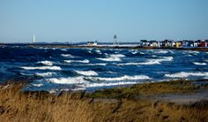 A September day, the beach in Skanör, Sweden. Linnaeus, Amazing Architecture, Sweden, My House, Beautiful Places, September, Coast, Southern, Home And Garden