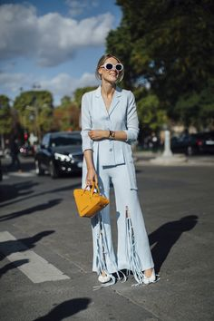 b1995b9584a Paris Fashion Week Street Style Spring 2018 Day 5 Cont