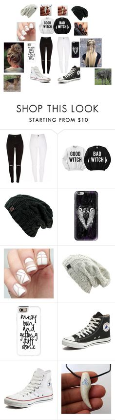 """""""Untitled #49"""" by maggie-white ❤ liked on Polyvore featuring Casetify, Banned and Converse"""