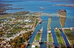 St. Ignace side trip- Soo Locks – a Wonder of Engineering and Human Ingenuity Get a glimpse of maritime history at the Soo Locks, where freighters, barges, tugboats and more traverse the 21-foot drop between Lake Superior and Lake Huron every day and night. They are legendary in the maritime world – a group of mighty Locks that have …