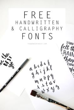 Working with fonts pretty much all day, every day, can become a little repetitive without a wide assortment to choose from. I hate coming across the same font over and over again online or in print materials. There are tons of free fonts out there and new ones popping up every day, so I decided to