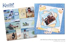 2H1703 Fun In The Sun Page and Pockets