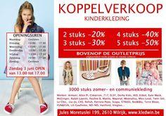 STOCKOPRUIMING KINDERKLEDING -- Wilrijk -- 29/05-03/06