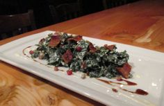 Fall Kale Salad from the Walrus & Carpenter, Black Rock, CT.