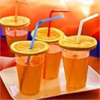 Oranje bubbels