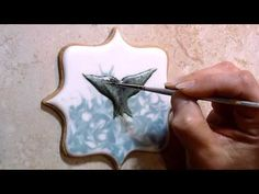 Whale Fluke and Water Cookie - YouTube