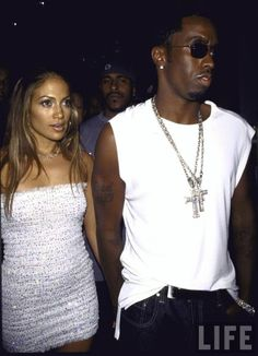 Puff & J. Lo, '99.. loved them as a couple back in the day (: