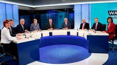 Elefantenrunde: SPD-Schulz attackiert Kanzlerin Merkel scharf - Politik Inland - Bild.de