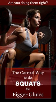 ═══► Doing SQUATS does not automatically mean bigger glutes. Most people do them wrong and are only targeting their legs. This article explains how to hit your butt muscles guarantied. #squats #fitspiration #exercise #workout #fitspo #fitnessmotivation #fitbodies #fitgirls