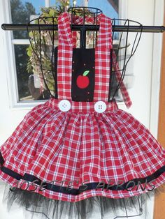 Items similar to Spells kids Apron on Etsy Red Tutu, Black Tutu, Halloween Sewing, Childrens Aprons, Teal Fabric, Cute Aprons, Princesa Disney, Retro Apron, Sewing Aprons