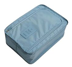 Waterproof Travel Pouch Finishing Sports Shoes Admission Package Blue * See this great product.