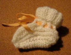 bačkůrky na dvou jehlicích Baby Shoes, Knitting, Crochet, Blog, Kids, Fashion, Creative, Young Children, Moda