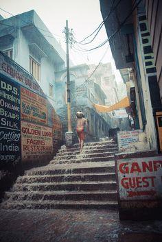 Varanasi, India in the rain - 2012 Namaste, Taj Mahal, Monsoon Rain, Cultural Capital, History Of India, Walking In The Rain, India People, India Tour, City Aesthetic