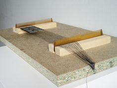 home made loom | Homemade loom / Telar indio casero | Flickr - Photo Sharing!