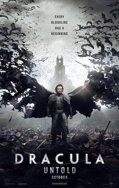 Dracula Untold - Luke Evans posiert in seiner Rolle als Blutsauger: Erste Poster - BlairWitch.de - Horror Movie Entertainment