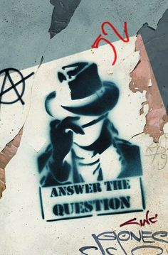 """""""And I won't stop 'cause I know the power of the question."""" RATM"""