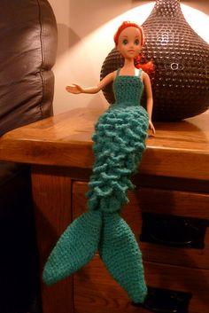 Crocodile stitch Mermaid dress free pattern