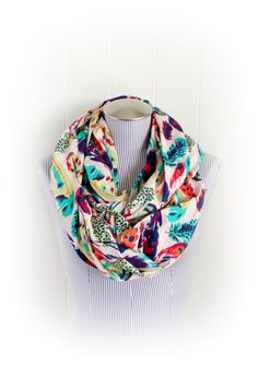 /feather-print-infinity-scarf-aqua-purple