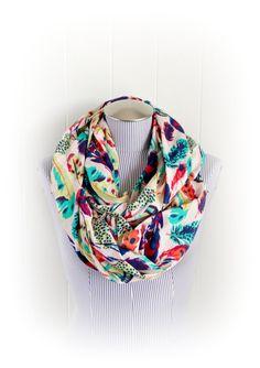 /feather-print-infinity-scarf-aqua-purple