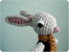 PATTERN - Crochet - Randal Rabbit Amigurumi (PDF)