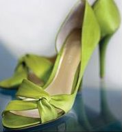 leaf green heels from Nine Couleur Chartreuse, Chartreuse Wedding, Lime Wedding, Spring Wedding, 2016 Fashion Trends, Boho Sandals, Leather Sandals, Green Heels, Bridesmaid Shoes