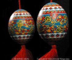 Return to the Ukrainian Easter Egg Pysanky