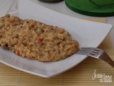 Il risotto alla Norcina è un primo piatto molto ricco e saporito che conquista tutti dal primo assaggio...
