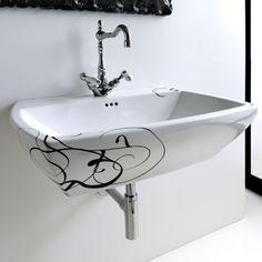 Nero Ceramica Civita Castellana.33 Fantastiche Immagini Su Artceram Graz Half Bathrooms E Bath Room