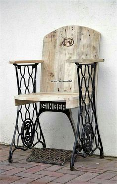 singer sewing base chair