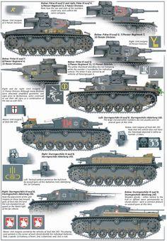 Marca y esquema pintura Panzerwaffe frente del este 1941