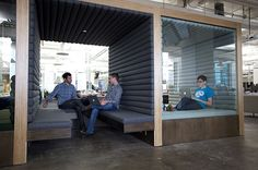 Square in San Francisco, California | 22 Gorgeous Startup Offices You Wish You Worked In