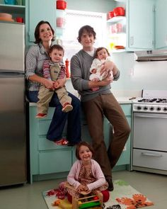 """Room to Grow  When graphic designers Curtis and Jennie Hemmert began renovating their '30s-era home in Little Falls, New Jersey, they hit a wall with one room: the dated, 100-square-foot kitchen. It had a sink that couldn't hold a saucepan (""""I had to clean the pots in the bathtub,"""" Jennie confesses), a refrigerator that didn't fit, and peeling laminate countertops that never quite looked pristine."""