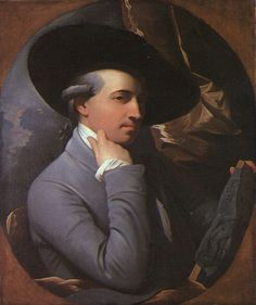 Self portrait, 1770 Benjamin West - Style - Rococo