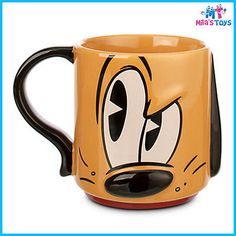Disney-Mickey-Mouse-Clubhouse-Pluto-Ceramic-Mug-brand-new