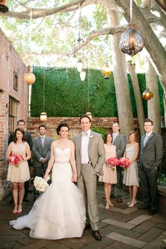 Carondelet House Wedding by Driver Photo - see more at http://fabyoubliss.com