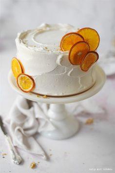 Candied Orange Slices, Dried Orange Slices, Orange Slice Cake, Orange Cakes, Citrus Cake, Summer Cakes, Summer Cake Recipes, Classic Cake, Orange Recipes
