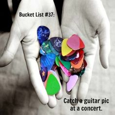 #concert #bucketlist - One I have actually done!
